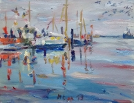 Morgen im Hafen, 2019