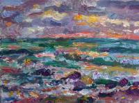 Ostseeküste mit Steinen, 2020