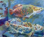Fische im zoologischen Museum, 2020