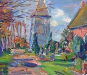 Kirchturmneben der Kirche, 2020
