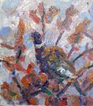 Taube im Baum, 2020