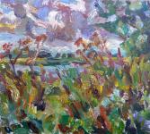 Wildblumen an der Elbe, 2020
